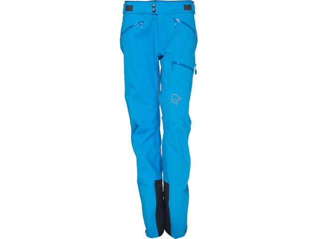 Norrøna Trollveggen Gore-Tex Light Pro Pants Dam signal blue